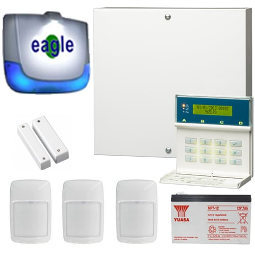 Risco Wireless 3 Alarm Agility System