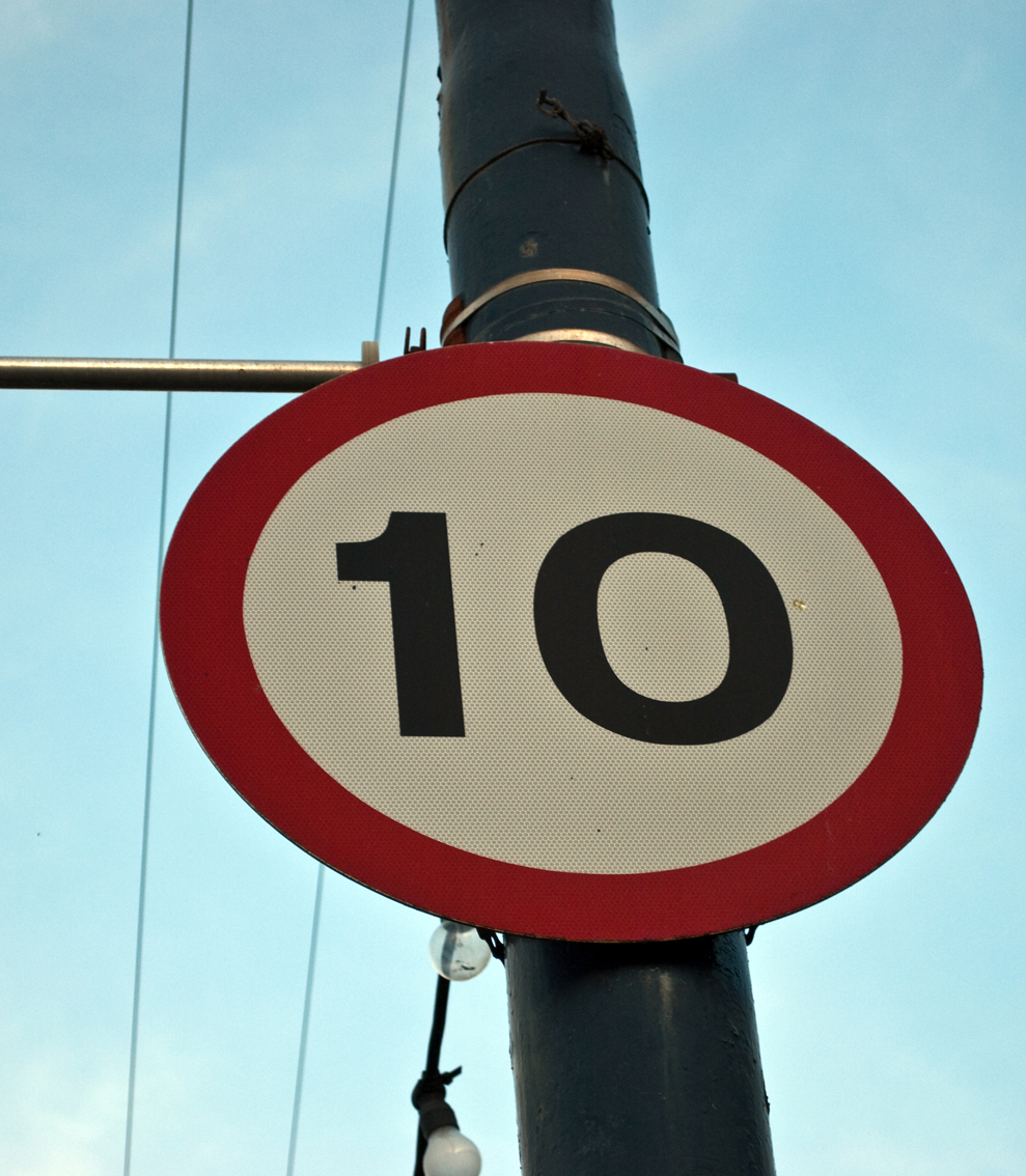Early Learning Resources 10 Mph Sign Free Early Years