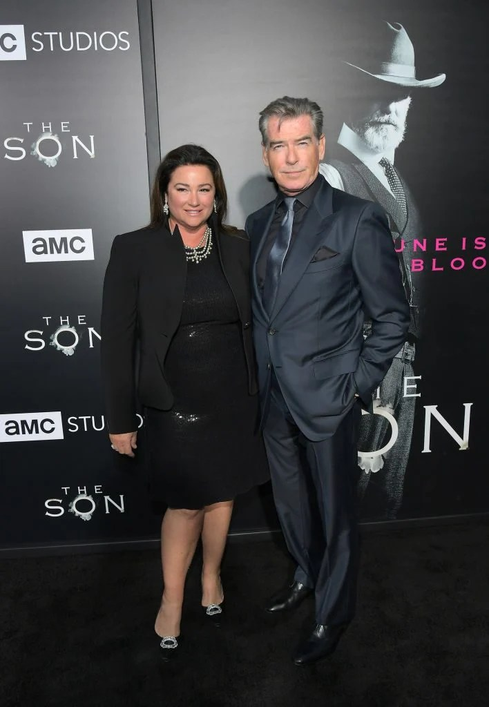 Pierce Brosnan Wife Weight Loss 2017