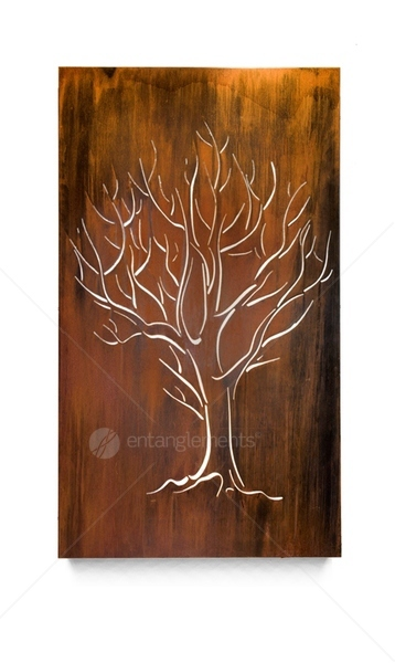 Nature Inspired Wall Art Tree Panel
