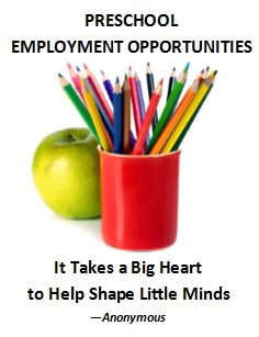 St Catherine Preschool Employment In Martinez California