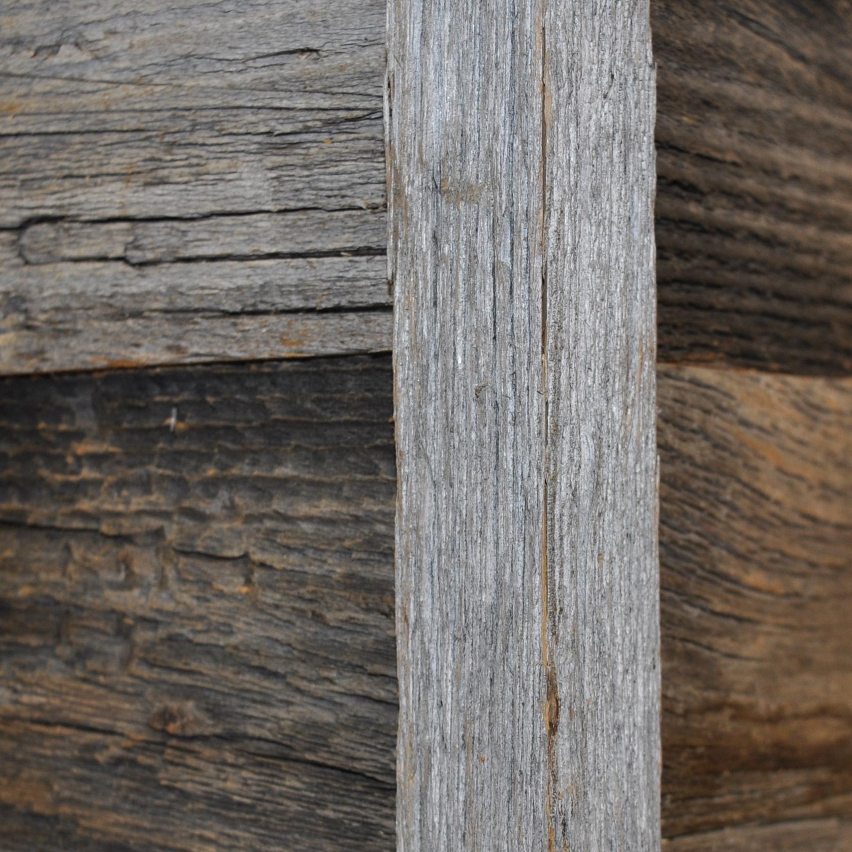 Diy Reclaimed Barn Wood Outside Corner Trim In Brown Or