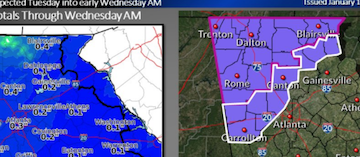 HD Decor Images » Winter weather advisory issued for Cobb  north Georgia   East Cobb News Cobb winter weather forecast  chance of light snow starting Tuesday  afternoon