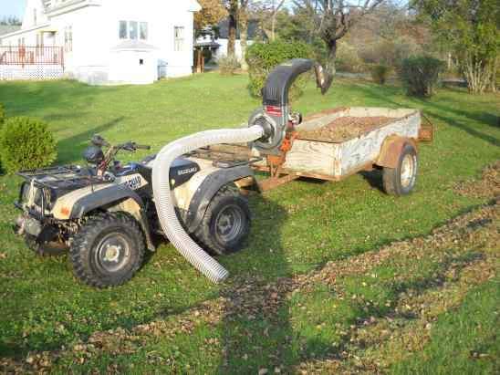 Mower Riding Yard Rake