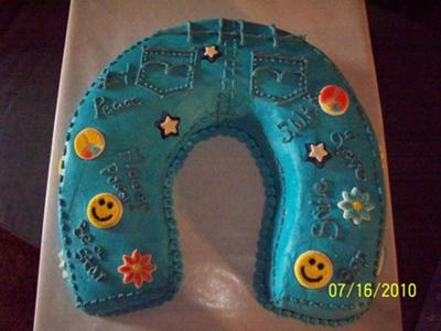Dana S Jeans Cake