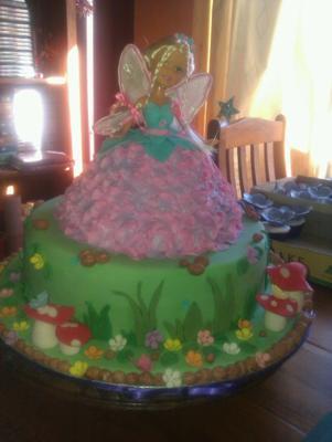 Fairy Doll Cake