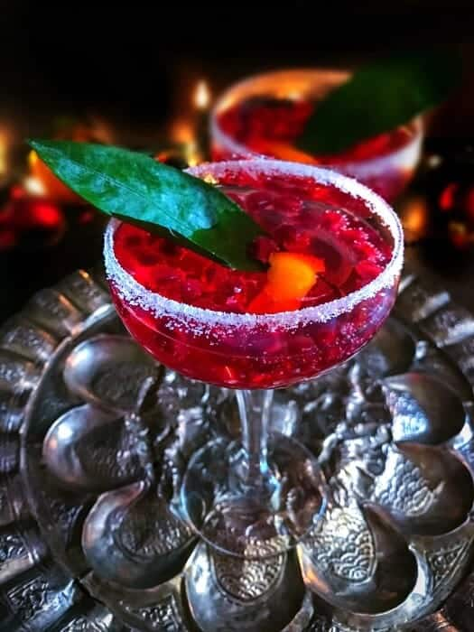 Pomegranate New Year s Punch  with Rum and Vodka   Drinks new year cocktail recipe vodka