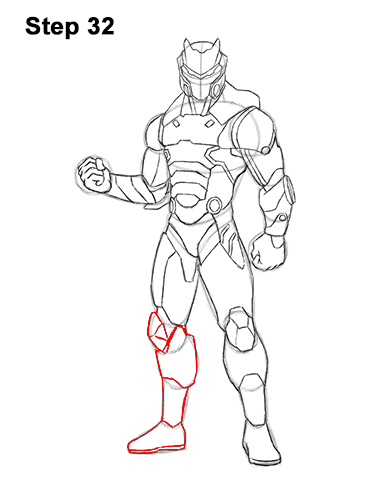Fortnite Drawing Easy Steps