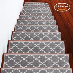 Top 10 Best Stair Treads In 2020 Reviews Buyer S Guide | 36 Inch Carpet Stair Treads | Basement Stairs | Slip Resistant | Coffee Brown | Diamond Trellis | Bullnose Carpet
