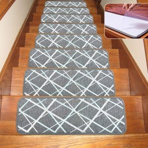 Top 10 Best Stair Treads In 2020 Reviews Buyer S Guide   Non Slip Stair Rugs   Bullnose Carpet   Carpet Rug   Mat   Stair Runners   Tread Covers