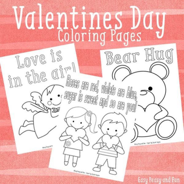 printable valentines day coloring pages # 57