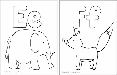 letters coloring pages # 9