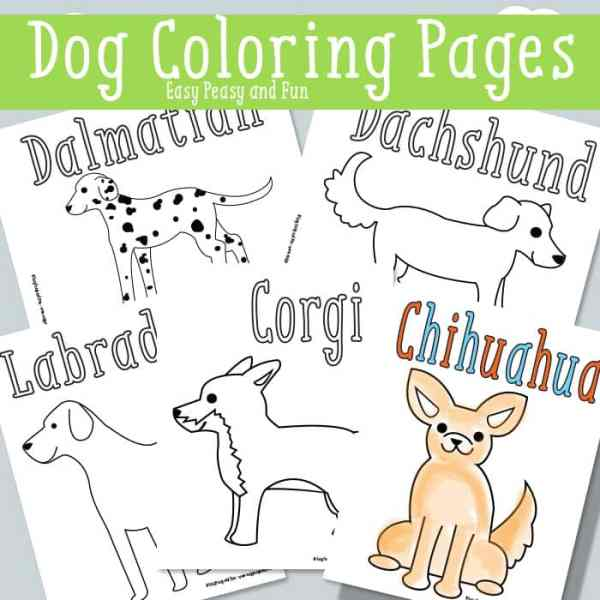 dog coloring pages printable # 8