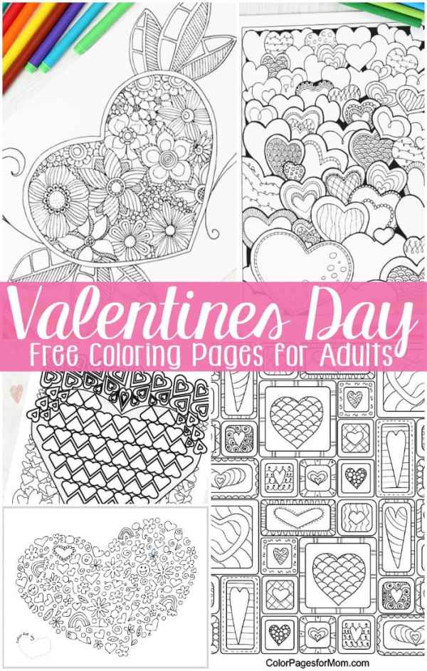 coloring pages for valentines day printable # 11