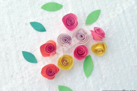 How to make small paper flowers step by step flower images 2018 giant paper flowers how to make paper garden roses with step by step giant paper flowers how to make paper garden roses with step by step tutorial free step mightylinksfo