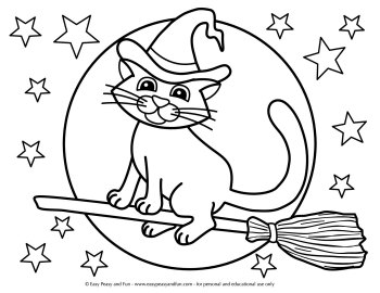 coloring halloween pages # 11