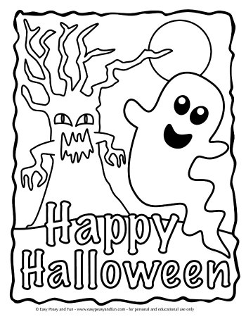 free halloween printable coloring pages # 28