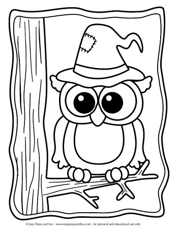 coloring halloween pages # 52