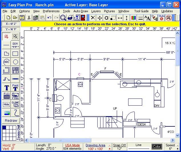 Blueprint Drawing Software