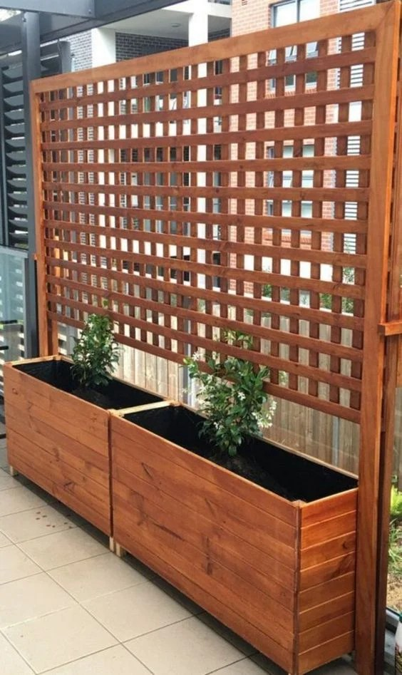 Raised Planter Construction