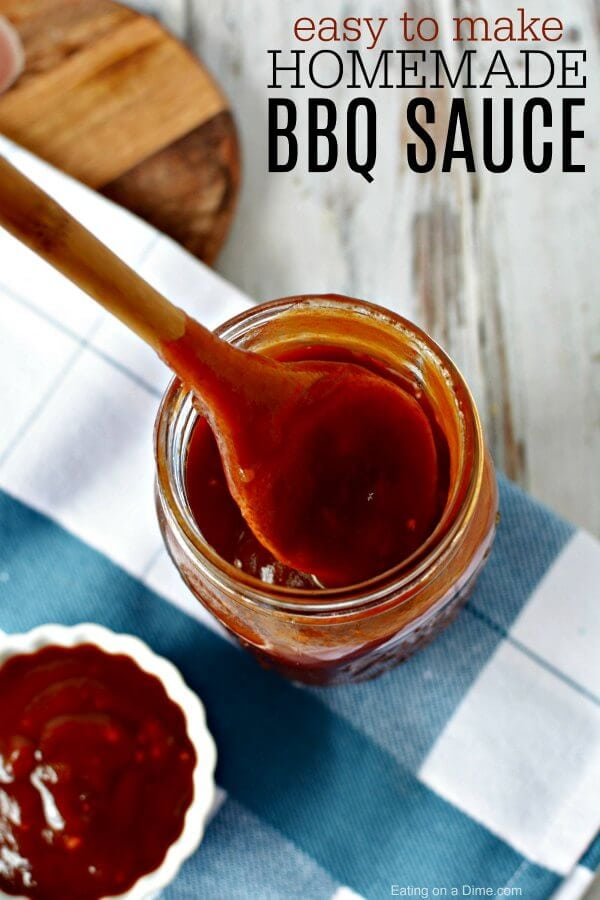 Easy Homemade Bbq Sauce Recipe Homemade Bbq Sauce In Minutes