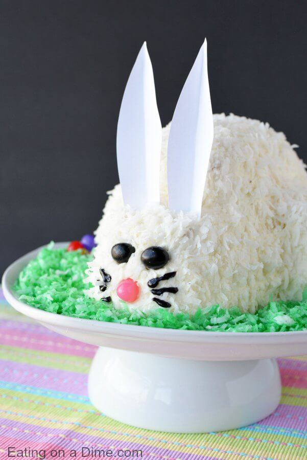 Easter Bunny Cake Easy Bunny Cake Recipe Everyone Will Love