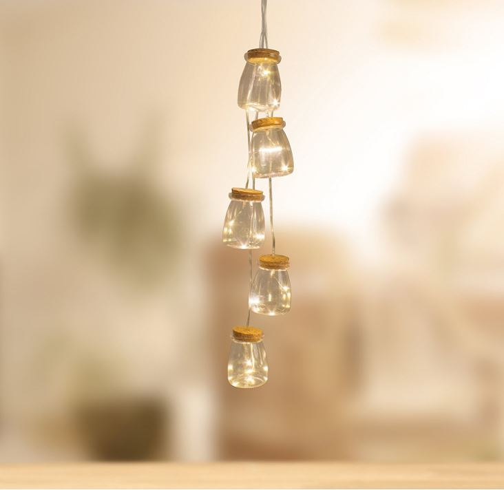 Old Fashioned Light Bulb String