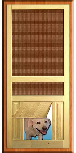 Screen Doors Product Review Pet Passages From Woodshop