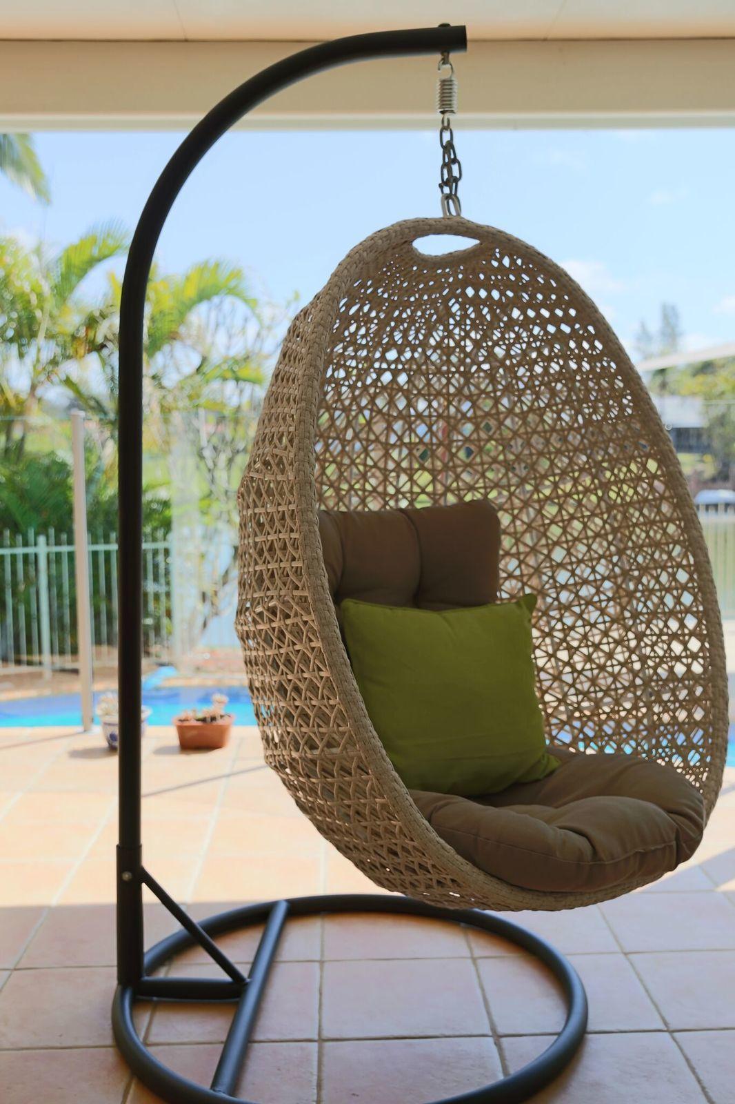 Hanging Egg Chair Out Door Furniture Brisbane Designer