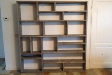 Huis Ideeën 2019 » hoek boekenkast maken | Huis Ideeën
