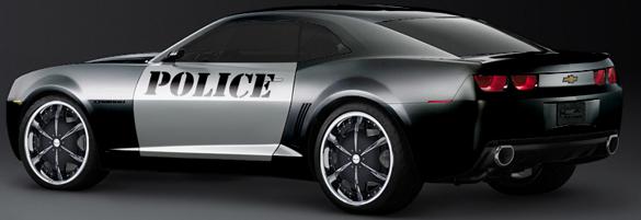 Bentonville Police Department Camaro