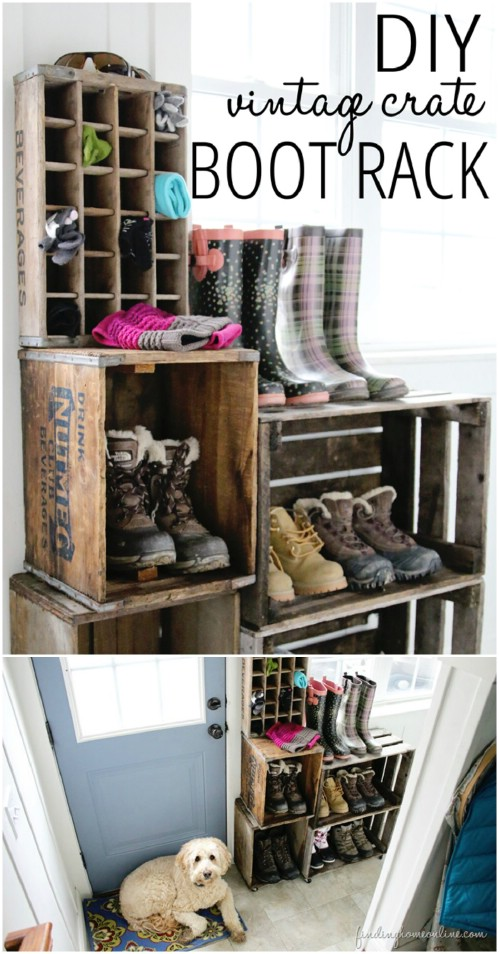 40 Creative Diy Rustic Storage Ideas To Organize Your Home