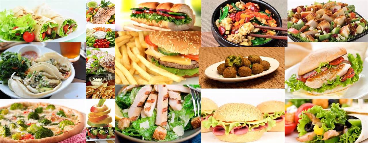 Healthy Food Lunch Fast Food