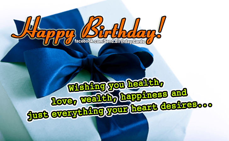 I Wish You Images Birthday Cards