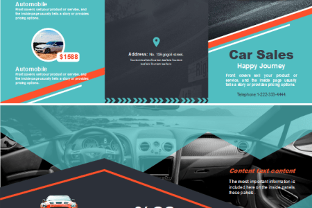 Free Car Sales Brochure Templates Car Sales Brochure