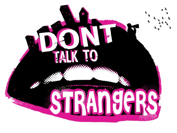 Dont Talk Strangers Online Color Pages