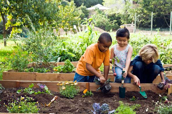 Gardening with your kids is more than just playing in the ...