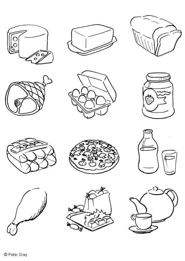 Vegetales Carne Puerco De Con