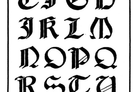 Moldes De Letras Goticas Para Imprimir Png Gotico Besthanukkahgiftsco