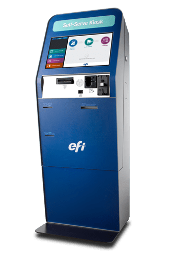 Efi G5 Card Vending Kiosk Overview