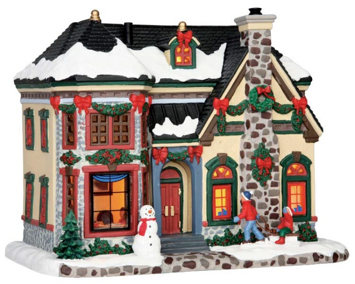 Home Accents Christmas Village