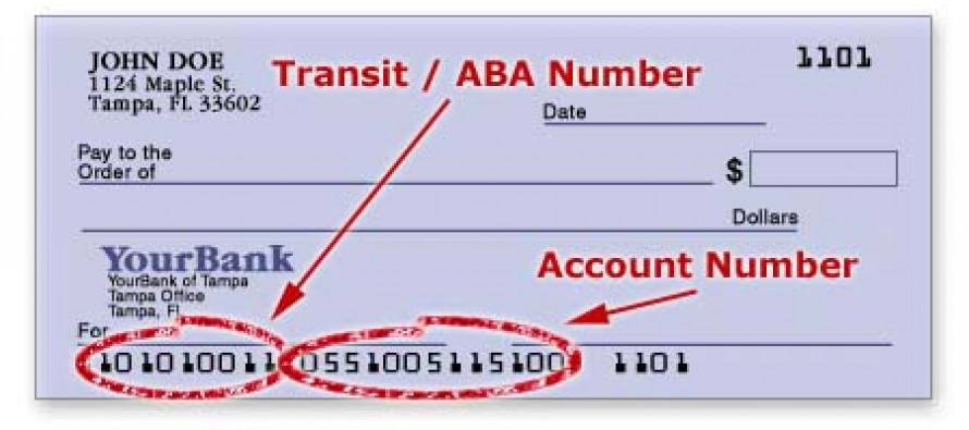 Bank Of America Aba Routing Number
