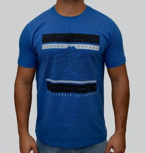 Camiseta Masculina Estampa Adventure