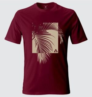 Camiseta Masculina Estampa Palms