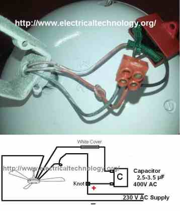 How to connect   Install a Capacitor with a Ceiling Fan   Electrical         How to connect   Install a Capacitor with a Ceiling Fan