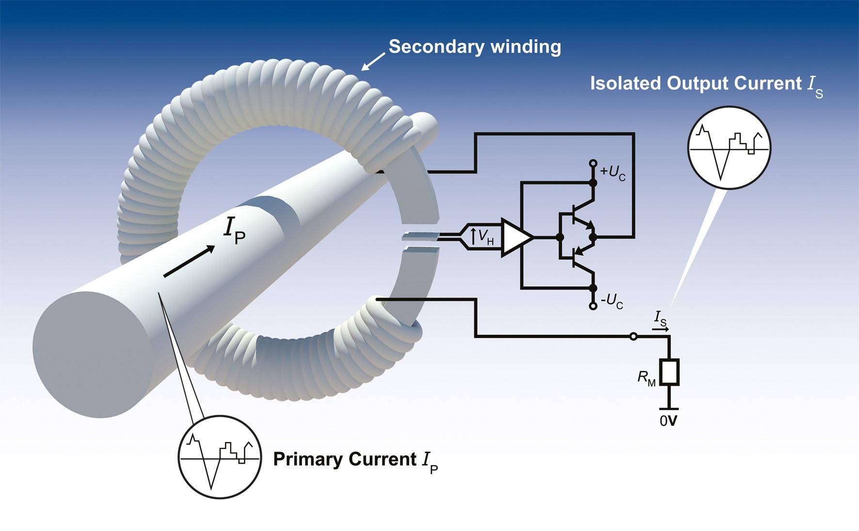 Hall Effect Current Sensor Circuit Diagram
