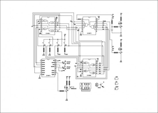Wireless Alarm System Circuit Diagram