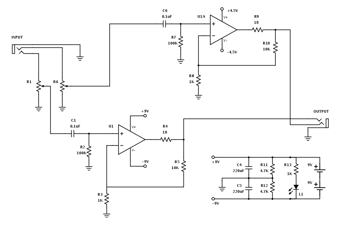 Op Amp To Connect Power Supply Regulated Using 741 And 2n3055