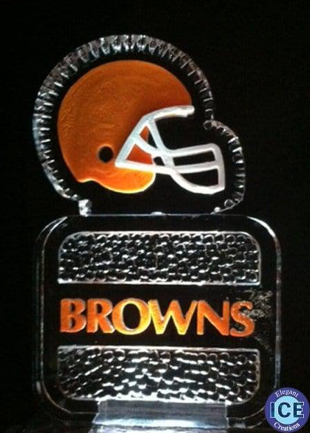 Elegant Ice Creations Inc. | Cleveland Browns Logo Ice ...