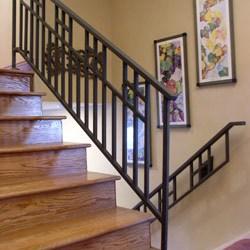 Elegant Iron Studios Custom Ornamental Metalwork Modern | Mission Style Hand Railings | Indoor | Bungalow | Front Porch | Art Craft | Hand